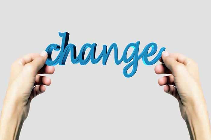Change hands