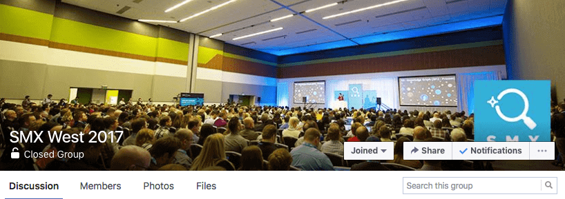 SMX West Facebook Group