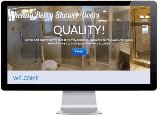 Kenny Berry Shower Doors