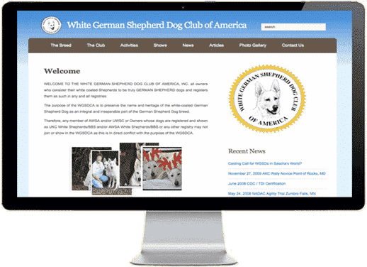 White German Shepherd Dog Club of America