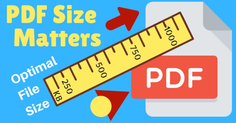 PDF File Size Recommendation