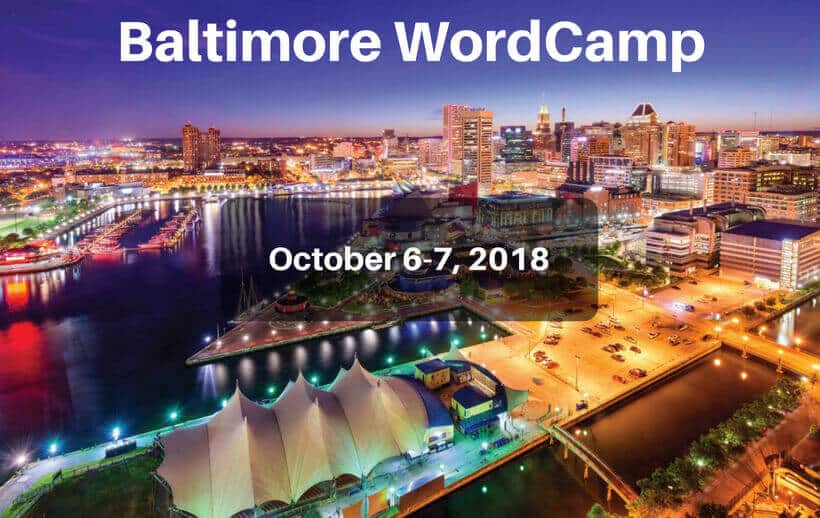 WordCamp Baltimore 2018
